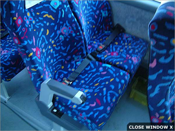 Bus & Coach seat belt installations